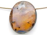 Boulder Opal Pendant 23mm (BOP448)