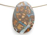 Boulder Opal Pendant 33mm (BOP449)