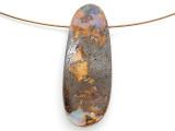 Boulder Opal Pendant 41mm (BOP450)