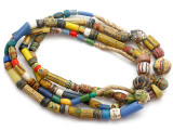 Old Assorted African Trade Beads  - 2 Strands (AT7243)