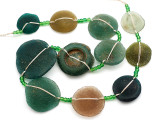 Afghan Ancient Roman Glass Beads (AF2102)