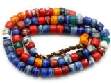 Old African Kankanmba Trade Beads 8-9mm (AT7279)