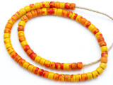 Old African Kankanmba Trade Beads 9mm (AT7287)