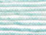 Amazonite Round Gemstone Beads 4mm (GS5200)