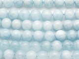 Aquamarine Round Gemstone Beads 10mm (GS5206)