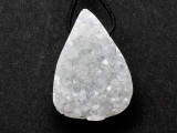 Druzy Agate Gemstone Pendant 27mm (GSP3501)