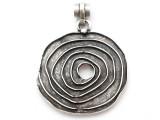 Spiral Metal Pendant 56mm (AP2271)