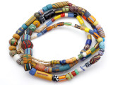 Old Assorted African Trade Beads  - 2 Strands (AT7295)