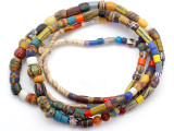 Old Assorted African Trade Beads  - 2 Strands (AT7298)