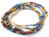 Old Assorted African Trade Beads  - 2 Strands (AT7299)