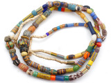 Old Assorted African Trade Beads  - 2 Strands (AT7301)