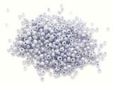 Metallic Lavender Glass Seed Beads - 3mm (SB287)