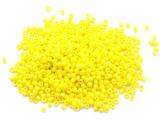 Bright Yellow Glass Seed Beads - 2mm (SB293)