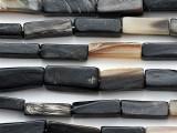 Rectangle Block Water Buffalo Horn Beads 18-24mm (HN87)