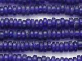 Cobalt Blue Heishi Glass Beads 5-6mm (JV1377)