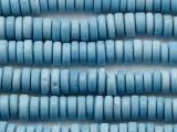 Light Blue Heishi Glass Beads 5-6mm (JV1378)