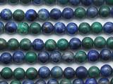Chrysocolla Round Gemstone Beads 6mm (GS5265)