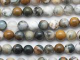 Ocean Jasper Round Gemstone Beads 8mm (GS5275)