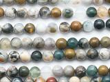 Ocean Jasper Round Gemstone Beads 6mm (GS5277)