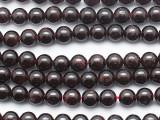 Garnet Round Gemstone Beads 6mm (GS5278)