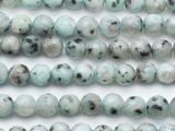 Kiwi Jasper Faceted Round Gemstone Beads 8mm (GS5291)
