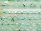 Prehnite Round Gemstone Beads 7mm (GS5296)
