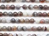 Botswana Faceted Round Gemstone Beads 6mm (GS5312)
