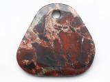 Brecciated Jasper Gemstone Pendant 46mm (GSP3761)