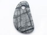 Picasso Jasper Gemstone Pendant 48mm (GSP3770)