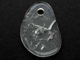 Clear Quartz Gemstone Pendant 52mm (GSP3787)