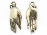 Brass Hand Tibetan Pendant 35mm (TB618)
