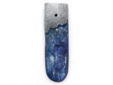Kyanite & Pewter Gemstone Pendant 38mm (GSP3839)
