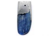 Kyanite & Pewter Gemstone Pendant 41mm (GSP3840)
