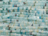 Afghan Ancient Roman Glass Heishi Beads 3-5mm (AF2160)