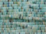 Afghan Ancient Roman Glass Heishi Beads 4-6mm (AF2161)