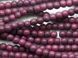 Purple Howlite Round Gemstone Beads 4-5mm (GS5355)