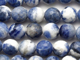Sodalite Faceted Round Gemstone Beads 10mm (GS5364)