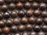 Bronzite Round Gemstone Beads 8mm (GS5368)