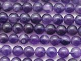 Amethyst Round Gemstone Beads 6mm (GS5381)