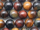 Mixed Tiger Eye Round Gemstone Beads 10mm (GS5383)