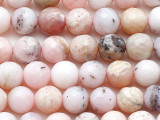 Pink Opal Faceted Round Gemstone Beads 8mm (GS5404)