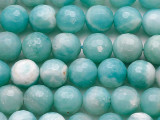Amazonite Faceted Round Gemstone Beads 8mm (GS5416)