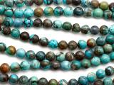 Turquoise Round Beads 8mm (TUR1462)