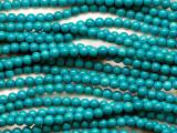 Turquoise Round Beads 4mm (TUR1463)