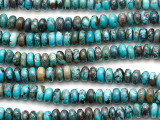 Turquoise Rondelle Beads 5-6mm (TUR1464)