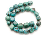 Turquoise Block Nugget Beads 14-17mm (TUR1471)