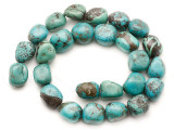 Turquoise Block Nugget Beads 15-17mm (TUR1472)