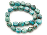 Turquoise Block Nugget Beads 15-17mm (TUR1473)