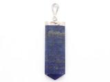 Lapis Lazuli & Sterling Silver Pendant 46mm (GSP3935)