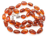 Genuine Amber Oval Nugget Beads 9-14mm (AB115)